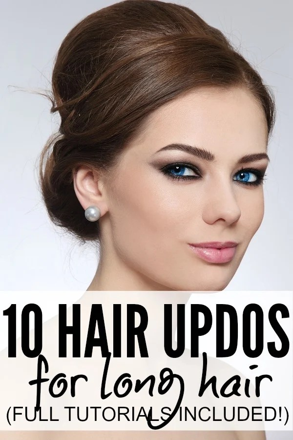 If you're sick of tying your long hair back into a boring ol' ponytail every morning, but can't stand to have your hair touching your face, these simple and sexy hair updos for long hair are just what you need to make yourself look glamorous this fall and winter!