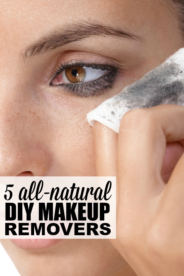 If you love wearing makeup, but hate spending a fortune on drugstore makeup removers, we've rounded up 5 of the best DIY makeup removers you can make using natural ingredients you already have in your pantry. These homemade recipes work well on eye and face makeup, and will leave your skin looking and feeling amazing!