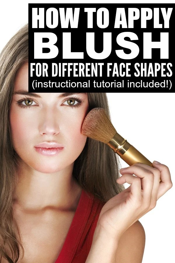 If you're looking for the best makeup tips to teach you how to apply blush to compliment your individual face shape, this tutorial is for you! Most people assume they should apply blush to the apples of their cheeks, and while that may work for some, there are other techniques to help give better definition to long, square, heart-shaped, or round face shapes, and this tutorial will give you the basics on all 4!