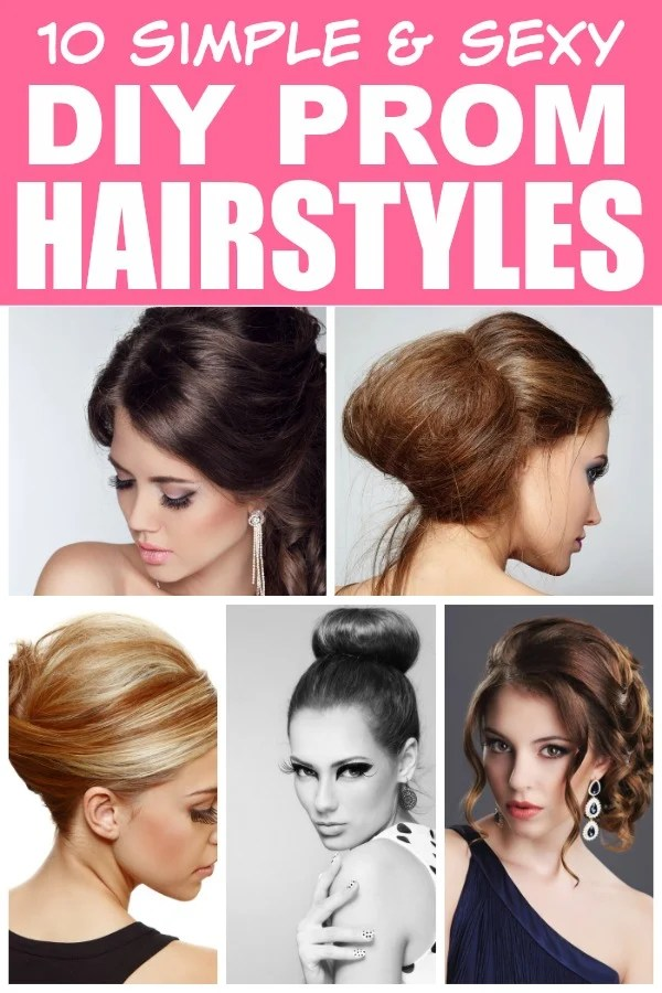 If you're looking for easy and glamorous prom hairstyles you can create from the comfort of your own home without making a dent in your wallet, this collection of DIY prom hairstyles is for you! These are perfect hairstyles for medium length hair and long hair, and while some of them will take a little bit of practice, there are quite a few that are RIDICULOUSLY easy to recreate. These also make for great holiday hairstyles and wedding hairstyles. Good luck and enjoy your big day!