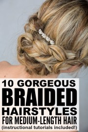 braided hairstyles medium
