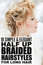 simple and elegant braided