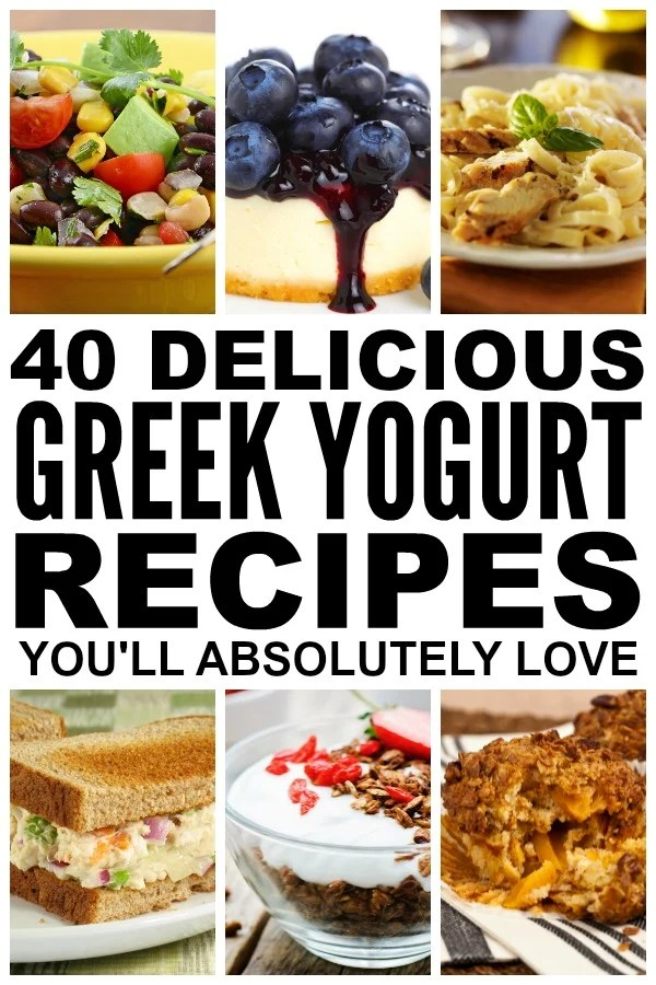 If you're on the hunt for breakfast recipes to kick start your day, looking forinspiration for packing healthy lunches for school or work, [desperately] seeking dinner ideas thewhole family will love, and/or in need of awesome dessert recipes that will wow yourmother-in-law, check out this FABULOUS collection of Greek yogurt recipes! I'm especially excited about the [lighter] blueberry cheesecake recipe because...cheesecake.