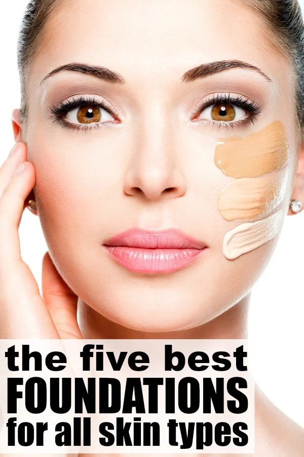 If you want flawless makeup, but find the drugstore brands you usually buy never quite match your skin or give you the finished look you want, check out this collection of the best foundations for all skin types. It's filled with great product recommendations to help you get natural-looking skin, includes options for light, medium, and full coverage, and has suggestions on the best brands to buy if you want to hide blemishes properly. Good luck!