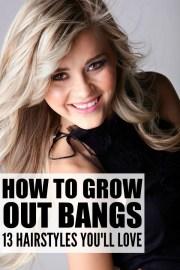 grow bangs 13 hairstyles