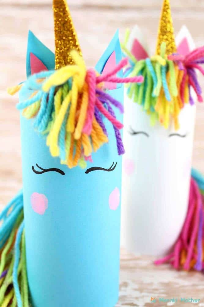 Unicorn Crafts For Kids Meraki Mother