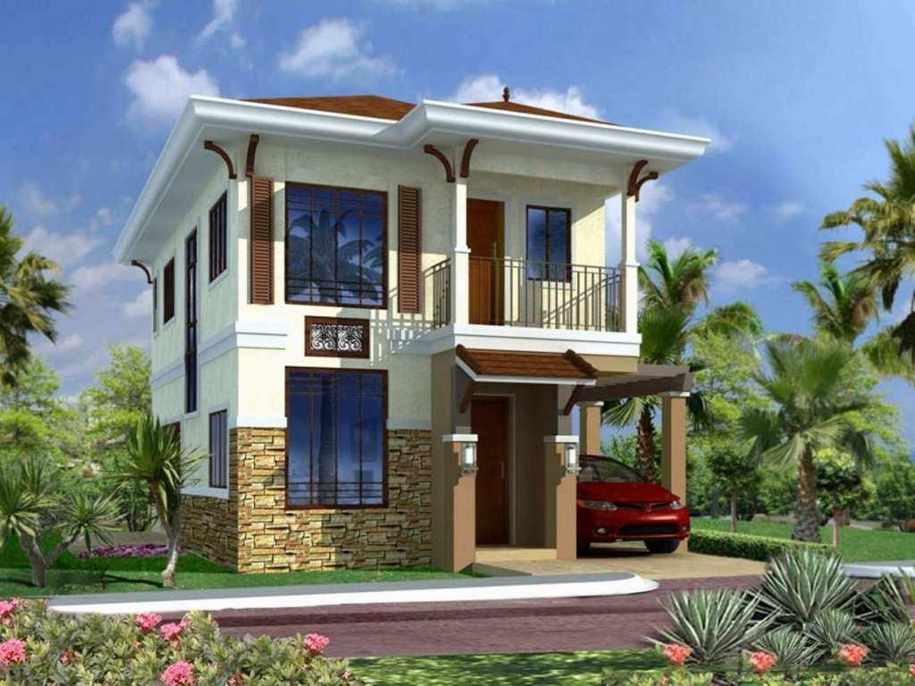 Casas Bonitas De 2 Pisos Con Terraza Fachadas Casas Modernas
