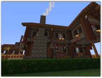 Casas Modernas En Minecraft Pe Con Planos De Casas De Madera Casas Top