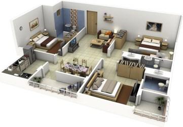 modelos de casas modernas por dentro Casas Top