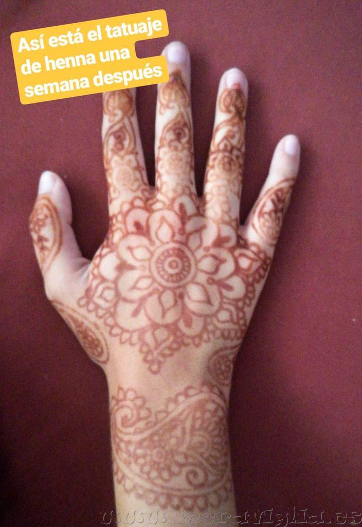 Dónde Hacerse Un Tatuaje De Henna En Marrakech Meraviglia