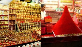 Shop in market