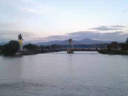scenery viewed from Ganga ghat