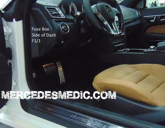 Mercedes C220 Fuse Box Layout