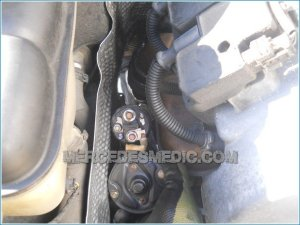 mercedes benz starter replacement change 22 – MB Medic