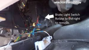 Brake Light Switch Problems and Solution – MB Medic