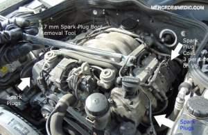 DIY How to Change Spark Plugs Yourself MercedesBenz – MB Medic