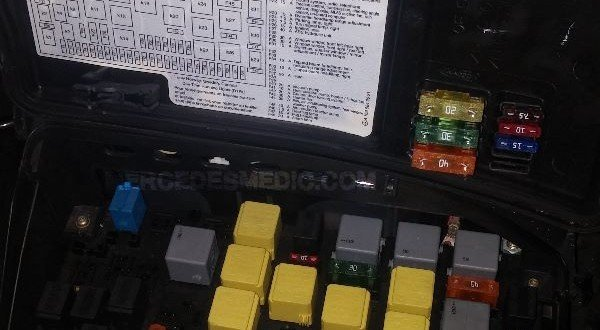 ml320 engine diagram 1978 international scout ii wiring fuse box 1998-2005 mercedes-benz ml location