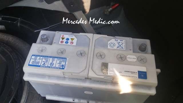 2002 Cl500 Fuse Diagram Mercedes Battery Replacement Diy Mb Medic