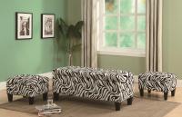 Zebra Print Living Room Furniture