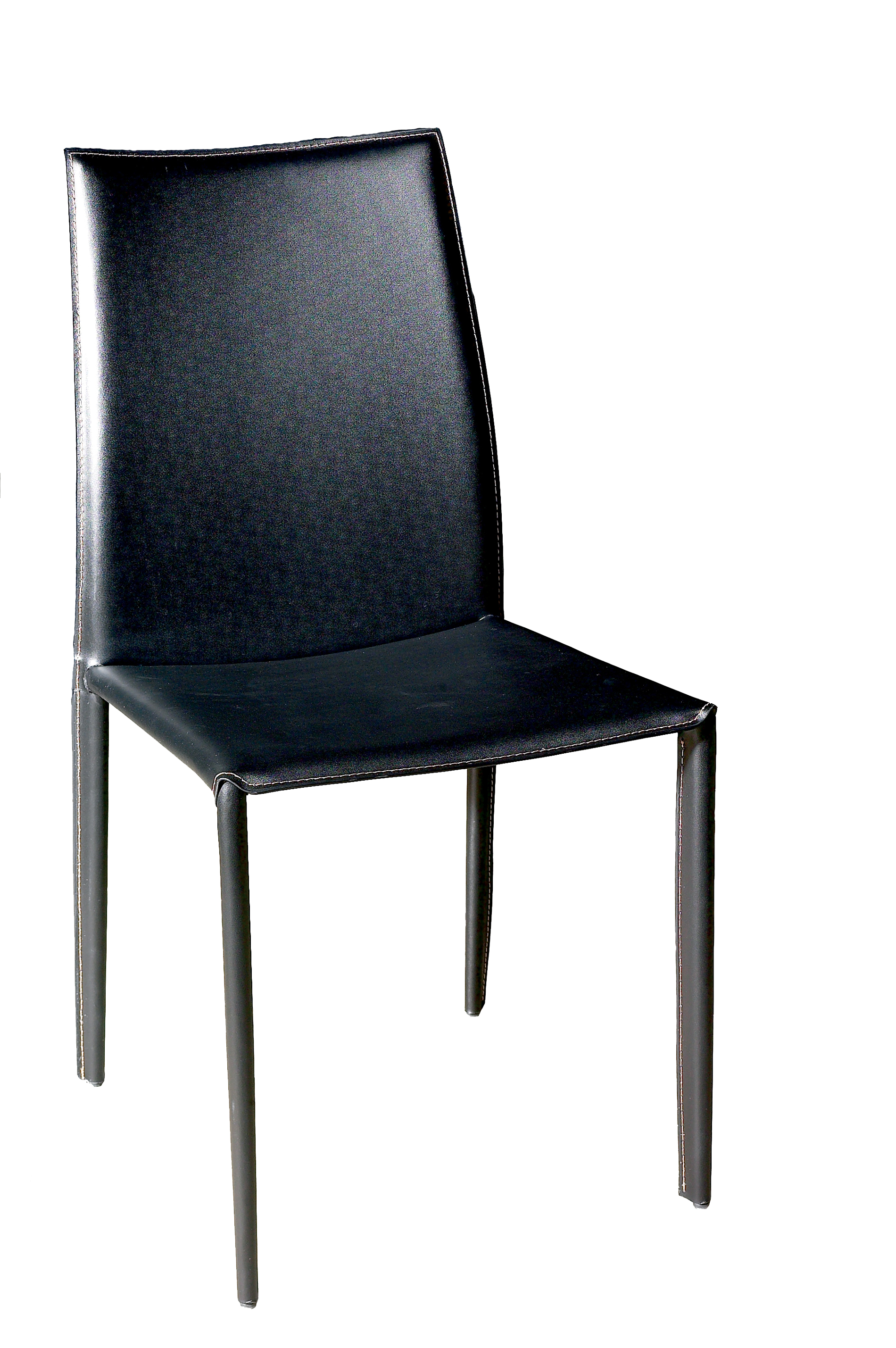 black leather chair dining paul mccobb room chairs arm