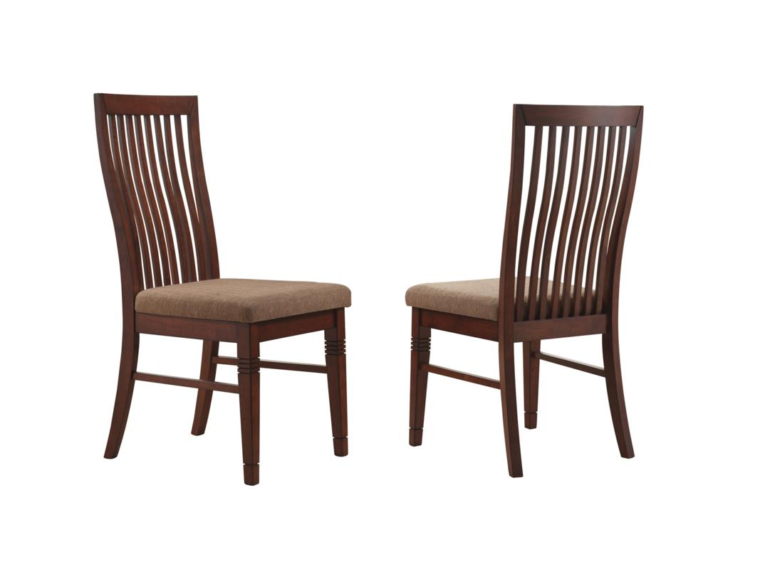 cherry dining chairs ergonomic chair in singapore dark  pads and cushions