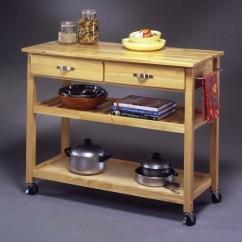 Unfinished Kitchen Cart Black Stools Solid Wood