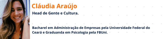 Cláudia Araújo: Head de Gente e Cultura