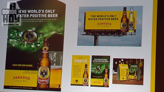 Cerveza Imperial Agua Positiva La primera del mundo