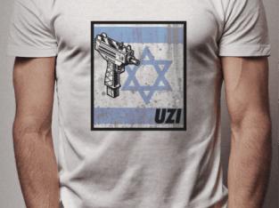 CAMISETA UZI ISRAEL