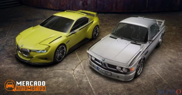 BMW apresenta o seu conceito 3.0 CSL Hommage