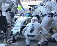 Williams pit-stop mais rápido na F1