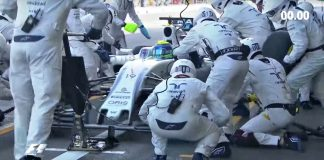 Williams pit-stop mais rápido na F1