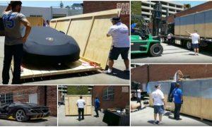 Veja à entrega do 1º Lamborghini Centenário Roadster nos Estados Unidos