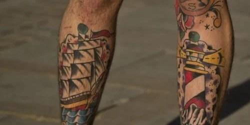 10 Ideias de Tattoos para as pernas