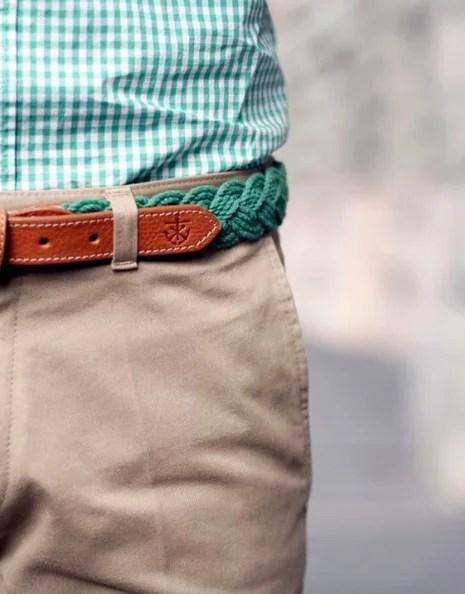 look with belt