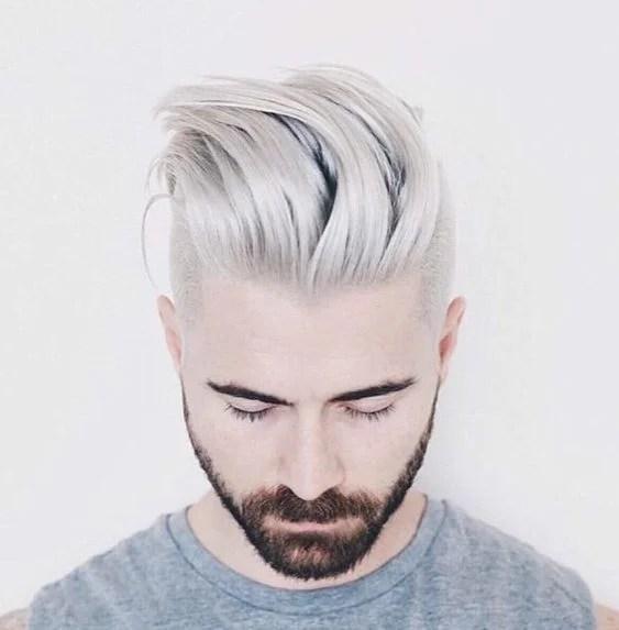 bleaching hair men