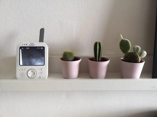 intercomunicador de vídeo para bebé da Philips Avent