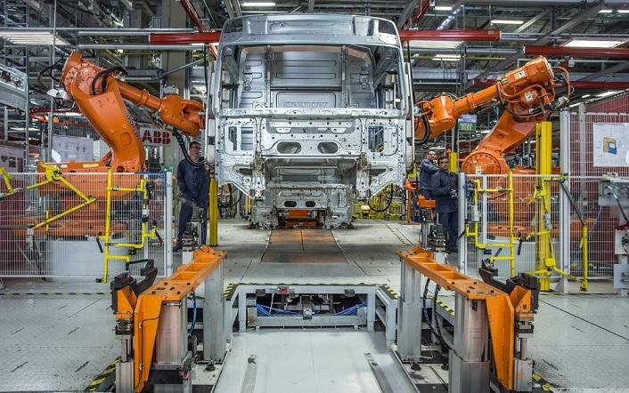 Fábrica da Volvo em Curitiba (PR)