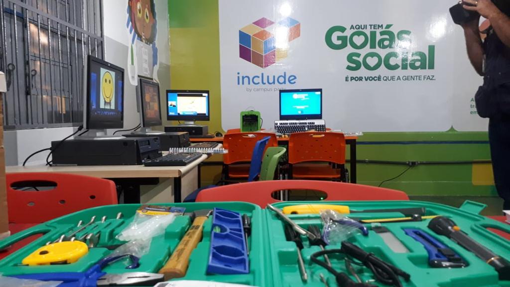 Projeto do Instituto Campus Party inaugura laboratórios para atender jovens em Goiás