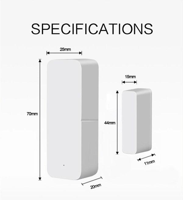 Sensor de Puerta Wifi 07