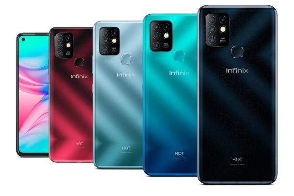 Celular Infinix Hot 10