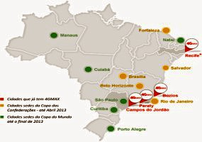 Redes 4G - Brasil
