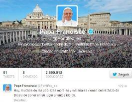 Twitter - Papa Francisco 265