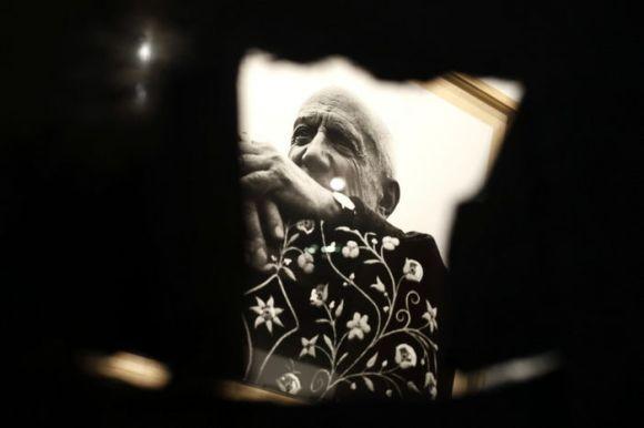 """Foto por Lucien Clergue, """"Mi amigo Picasso"""" - EFE-"""