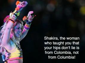 Shakira - Colombia 285