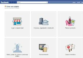 Facebook - páginas -