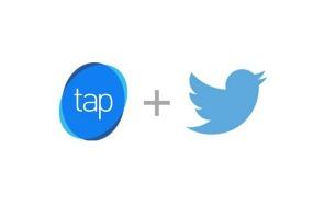 Twitter y Tap Commerce-