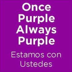 once purple