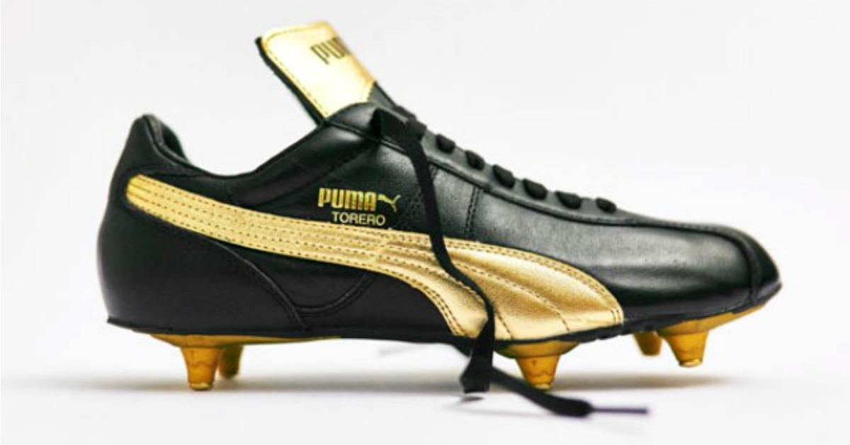 Puma relanza los icónicos botines de Maradona
