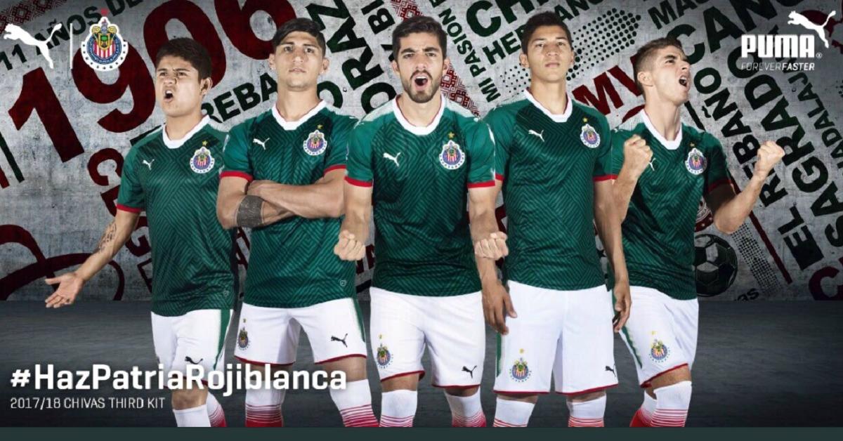 Chivas presenta nueva camiseta ¡muy mexicana!